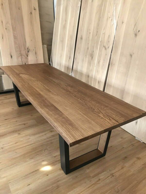Möbel-Natur-Komfort   Tisch aus Eichen-Massivholz
